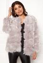 Diamond Panelled Fur