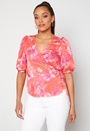 Julia S/S Baloon Wrap Top
