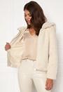 Thea Hoody Short Faux Fur