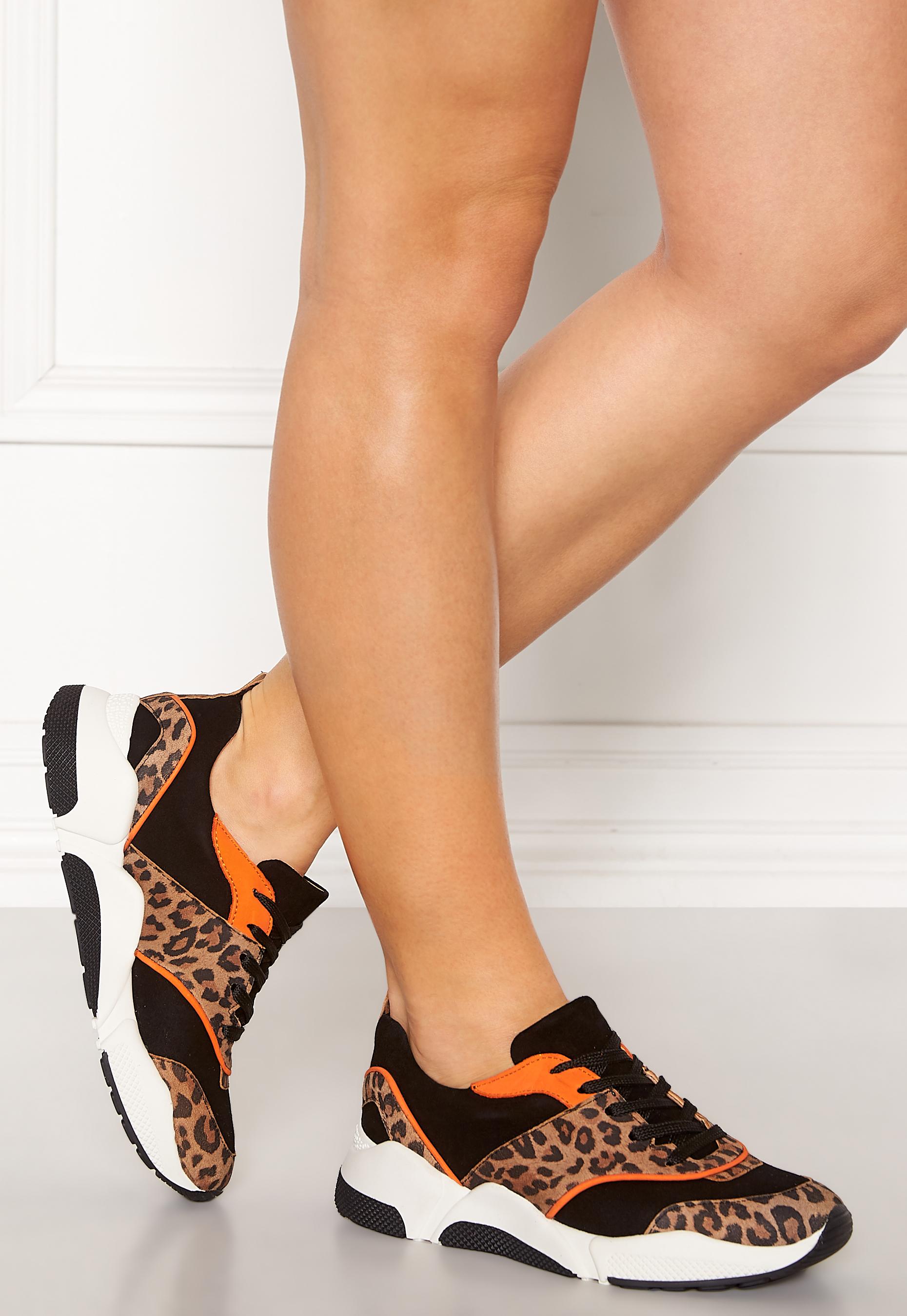 cbcae508a2c Billi Bi Suede Sneakers Leo/Orange - Bubbleroom