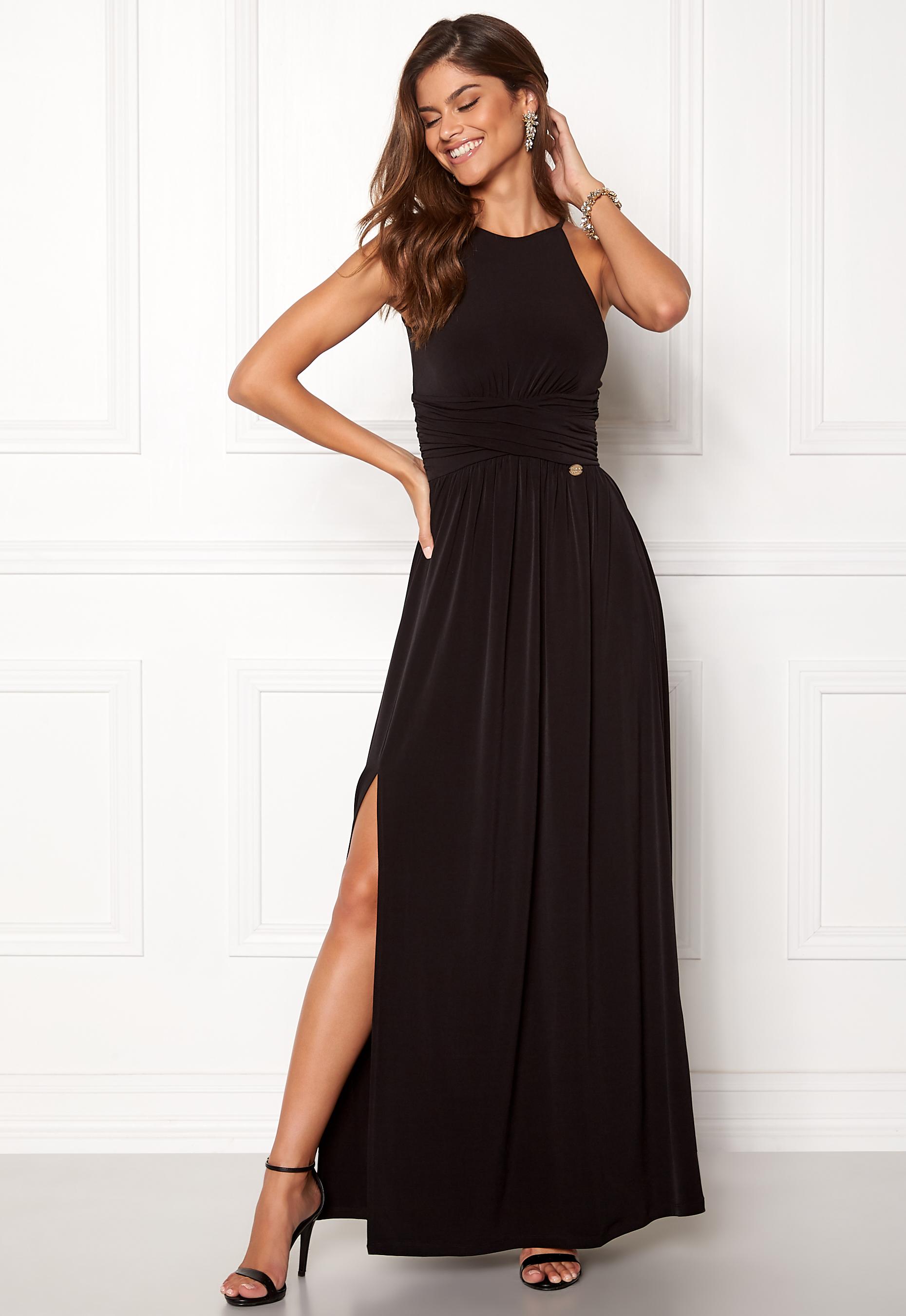 48d46830 Chiara Forthi Erica Maxi Dress Black - Bubbleroom