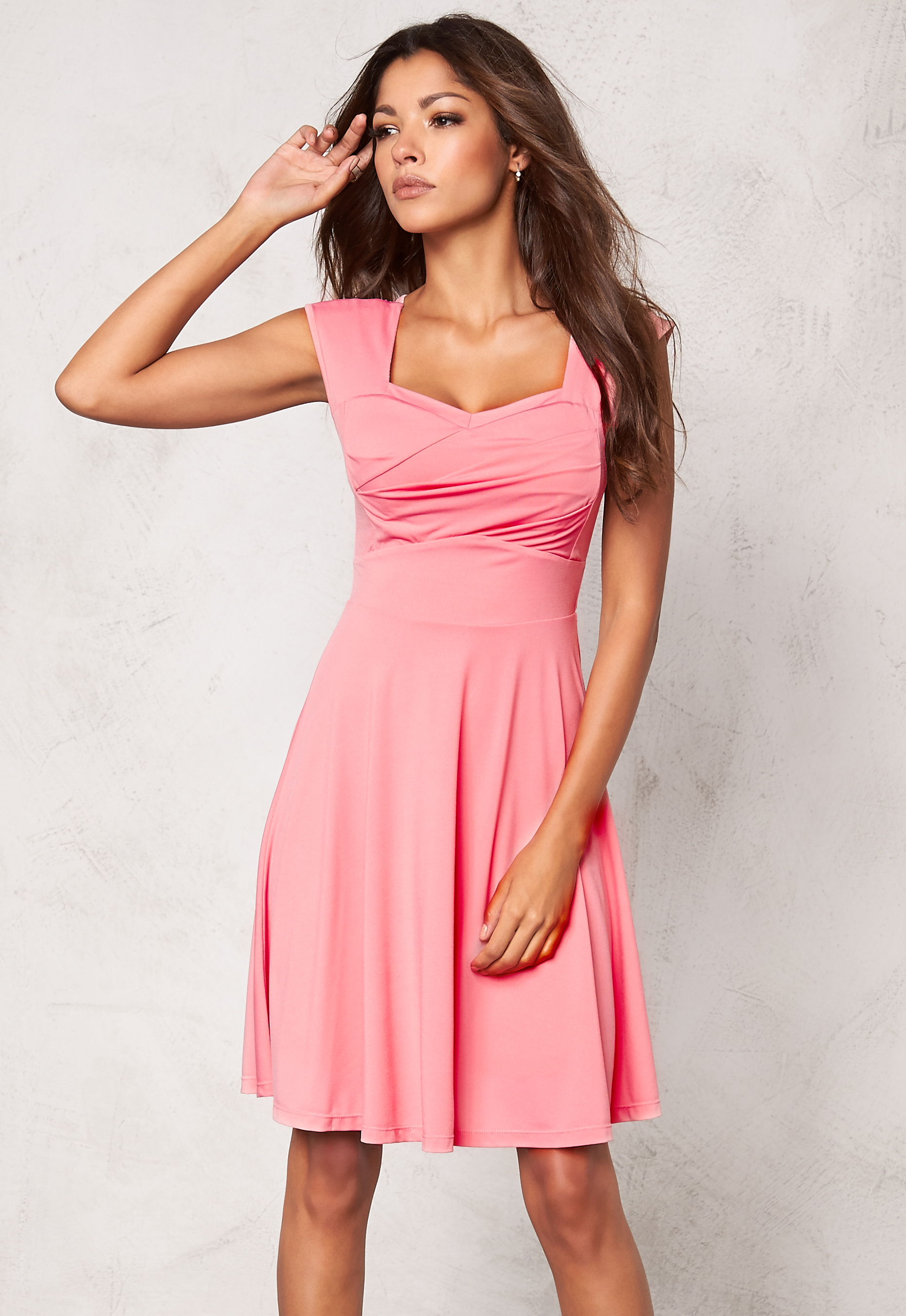 c3a35d3824a0 Chiara Forthi Suelly Dress Light pink - Bubbleroom