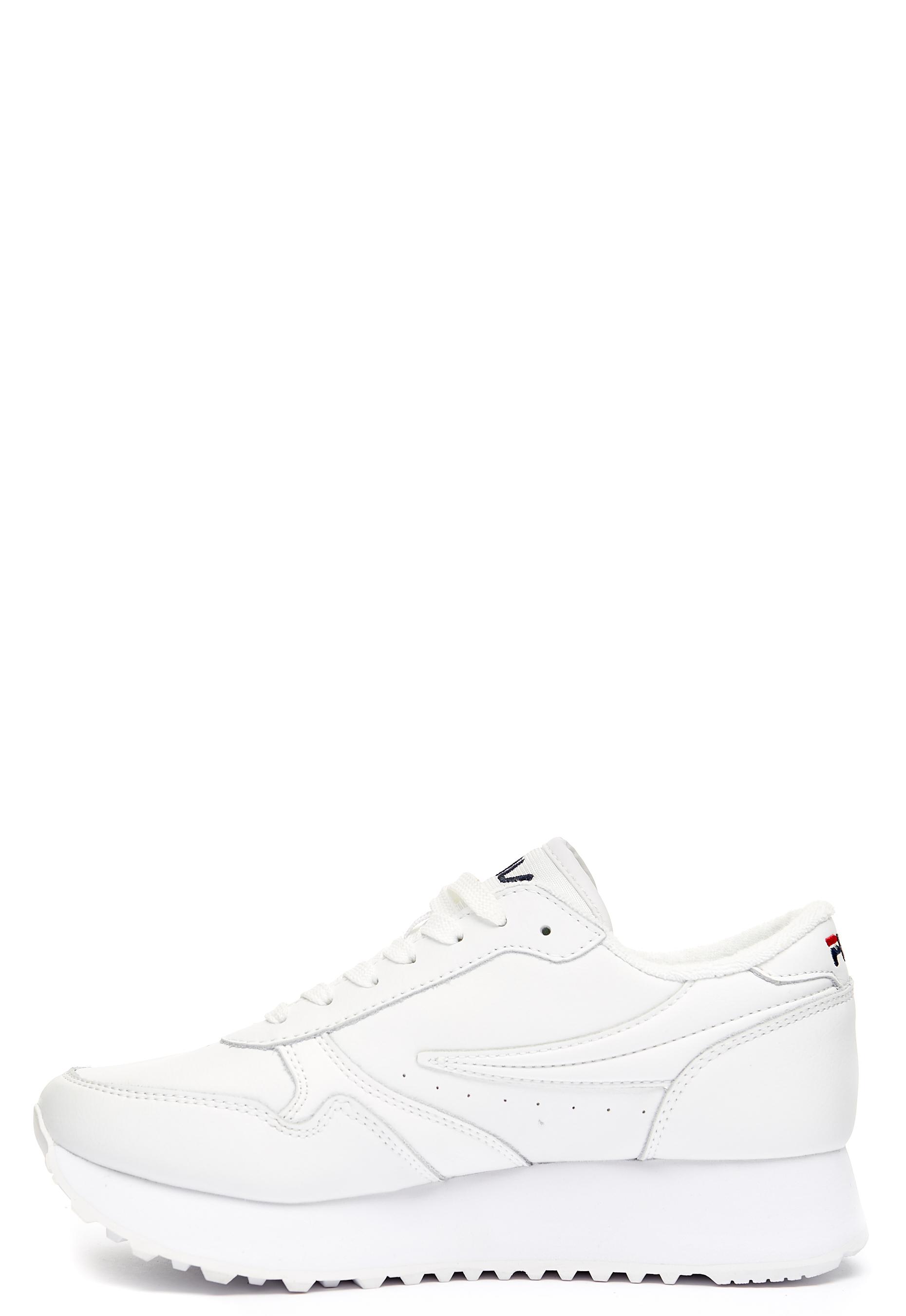 FILA Orbit Zeppa L Shoes White Bubbleroom