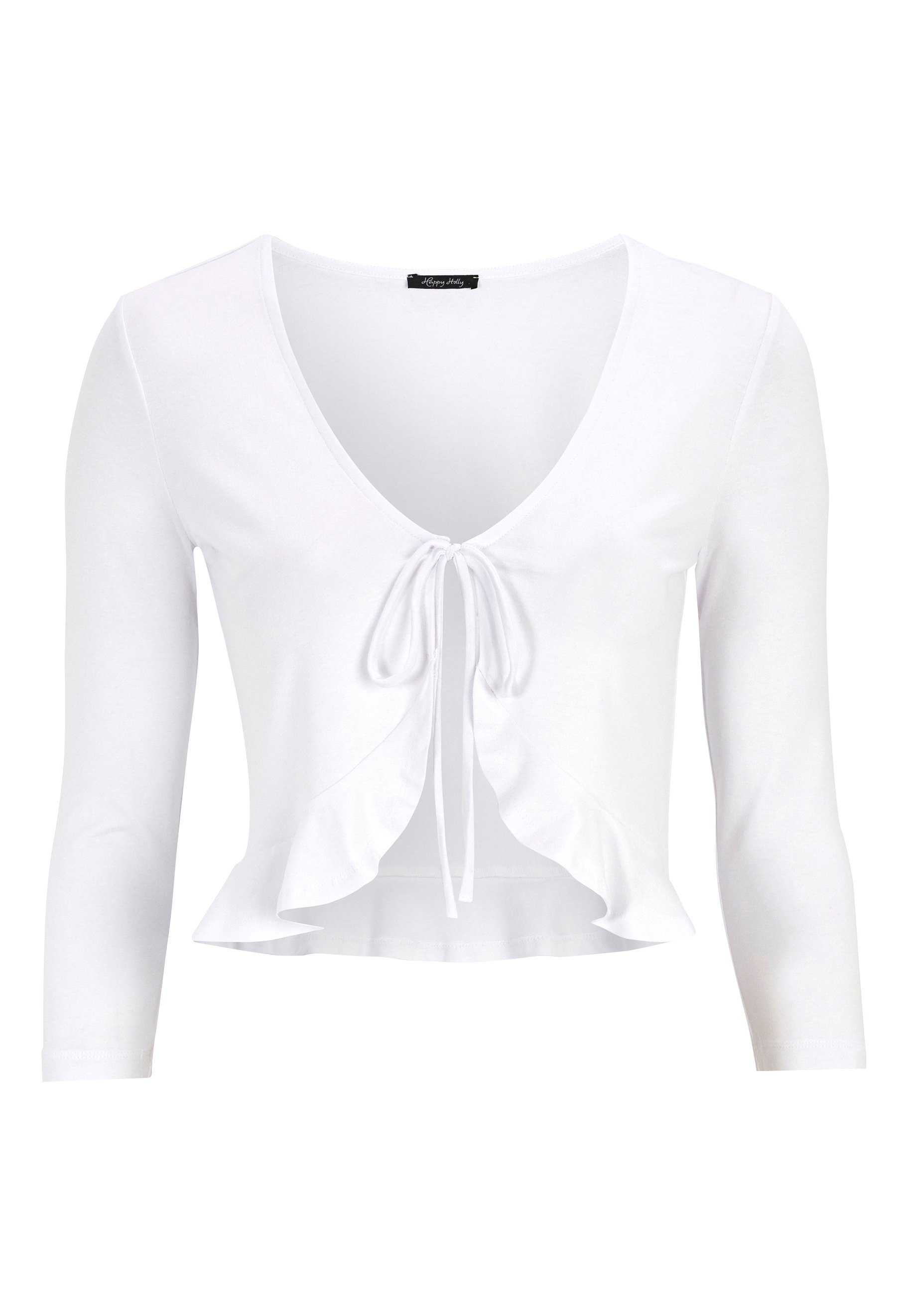 Happy Holly Trinny bolero White Bubbleroom