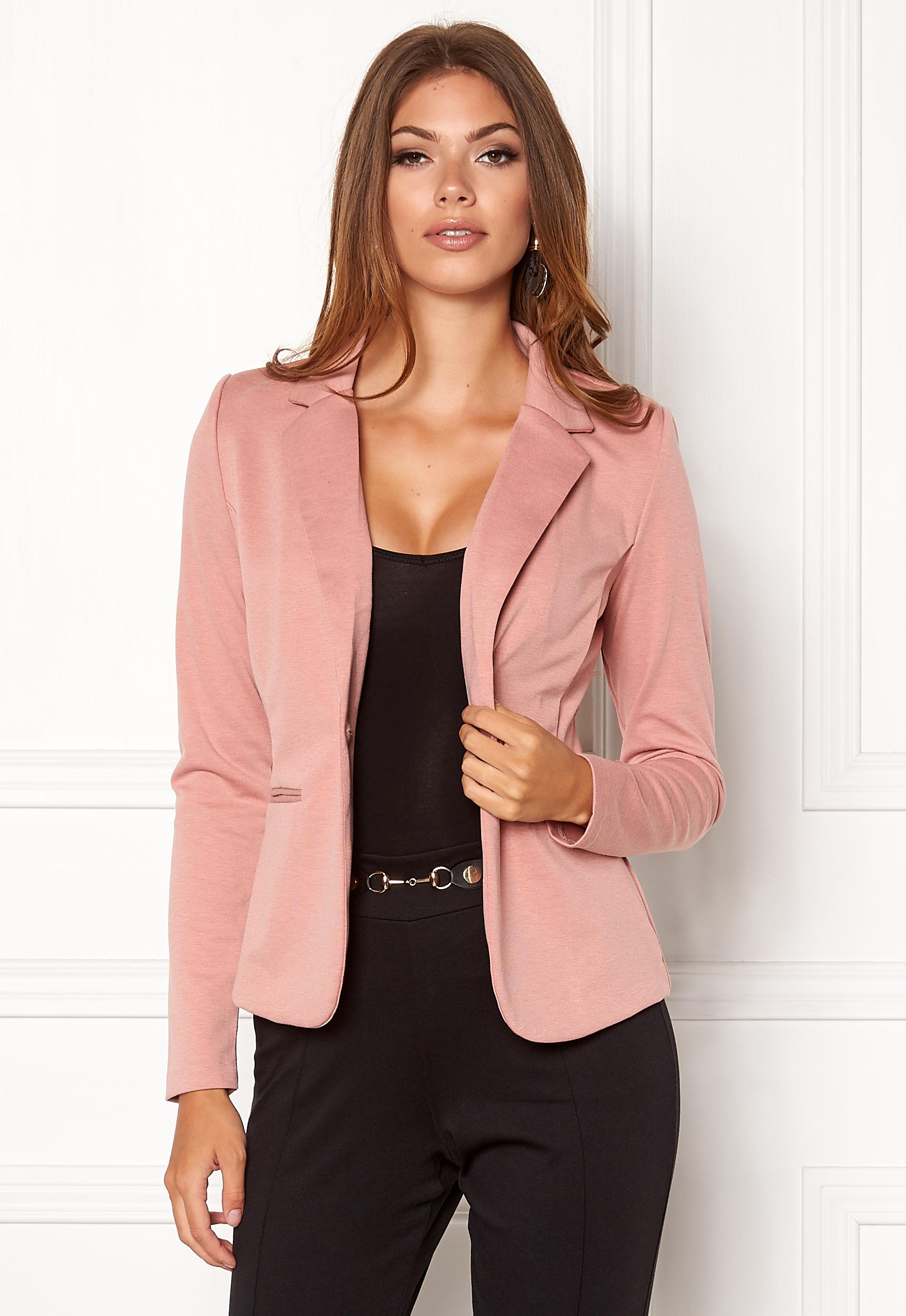 d17e4f7adcb ICHI Kate Suit Jacket Ash Rose - Bubbleroom