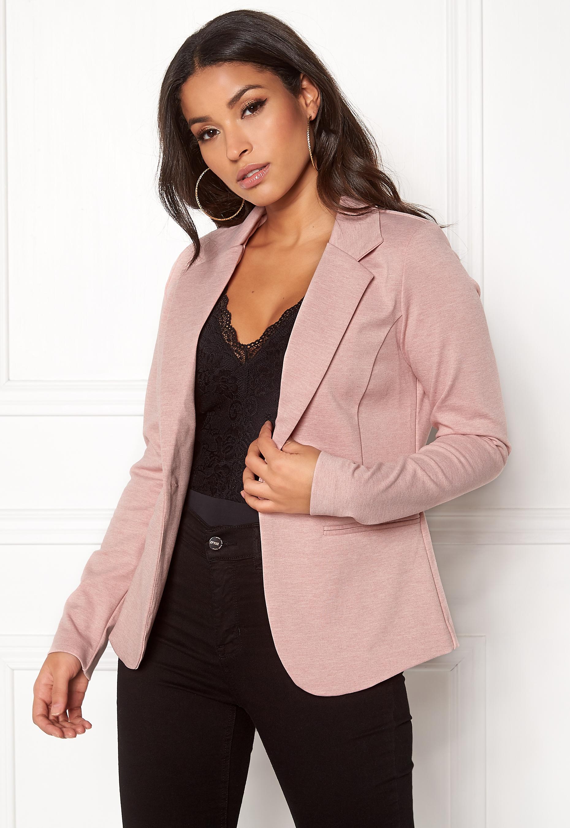 23cd506cd20 ICHI Kate Suit Jacket Rose Smoke Melange - Bubbleroom