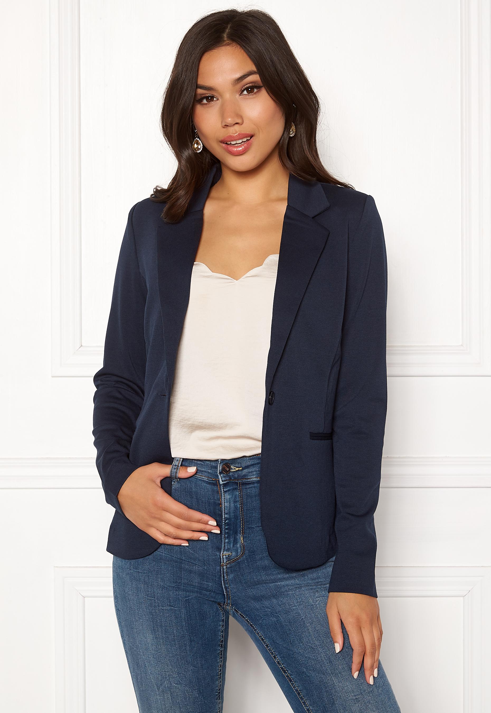 27e9f255d33 ICHI Kate Suit Jacket Total Eclipse - Bubbleroom