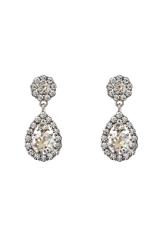 LILY AND ROSE Petite Sofia Earrings Crystal - Bubbleroom