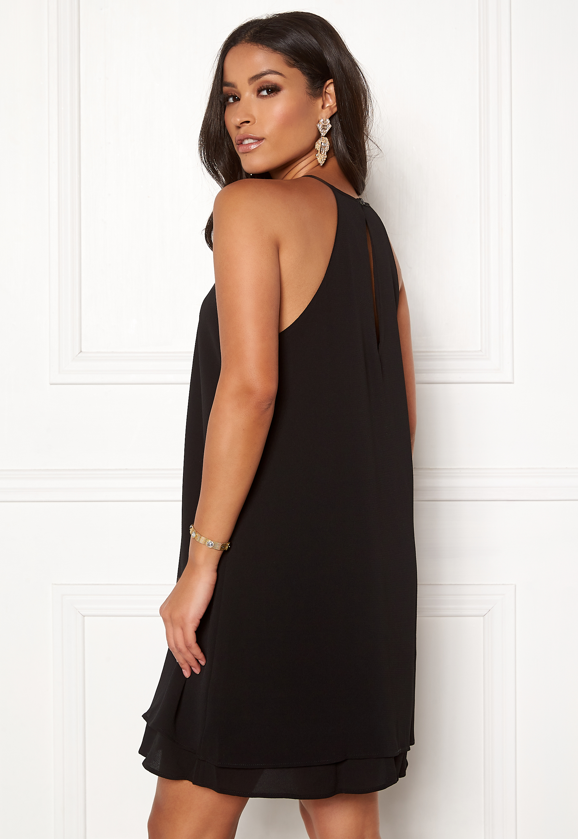 4ee7464f872d ONLY Mariana Myrina S L Dress Black - Bubbleroom