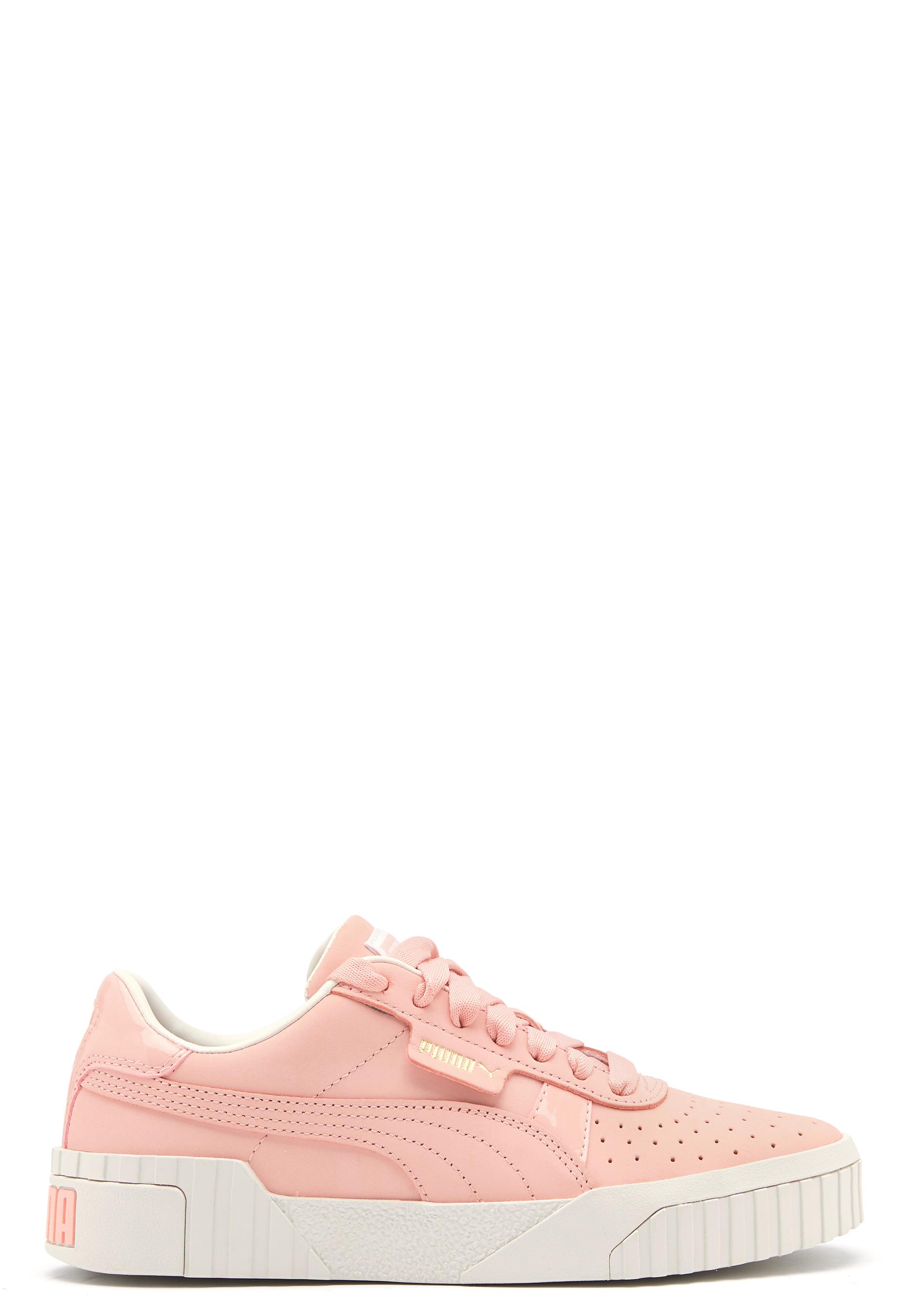 PUMA Cali Nubuck Sneakers 001 Peach Bubbleroom