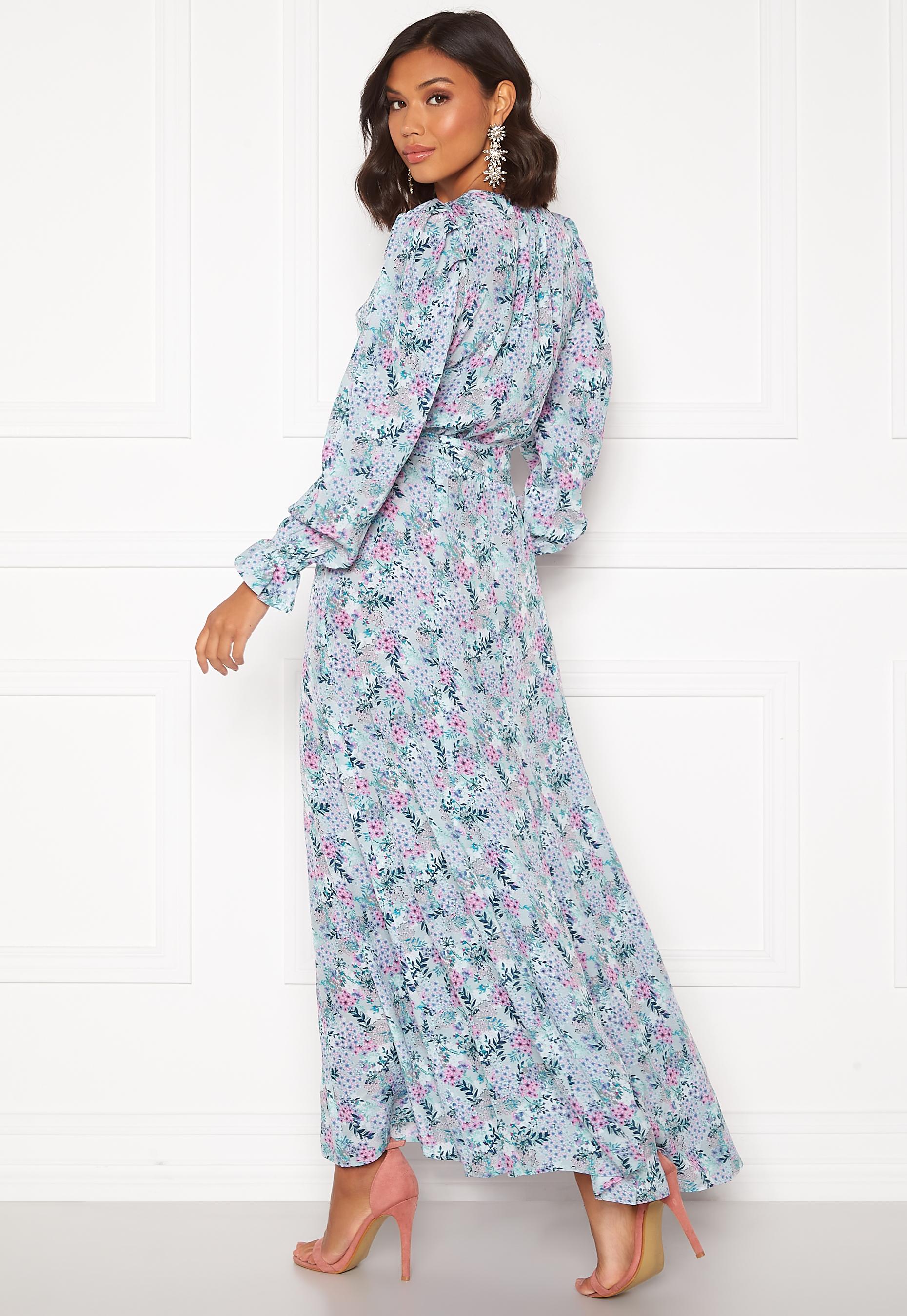 Ravn Neo Dress Vintage Flower Print Bubbleroom