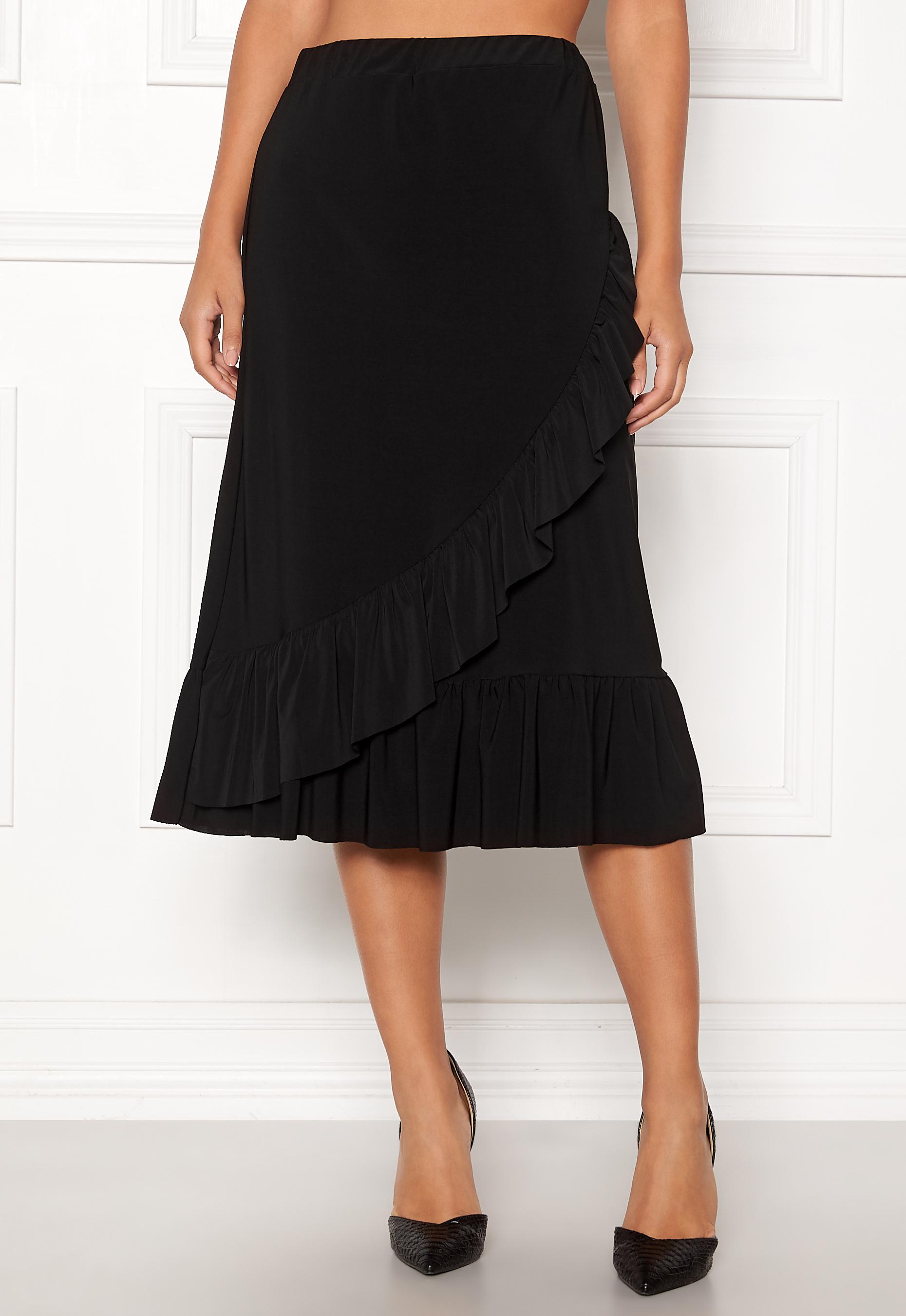 Sisters Point Givi Skirt 000 Black Bubbleroom