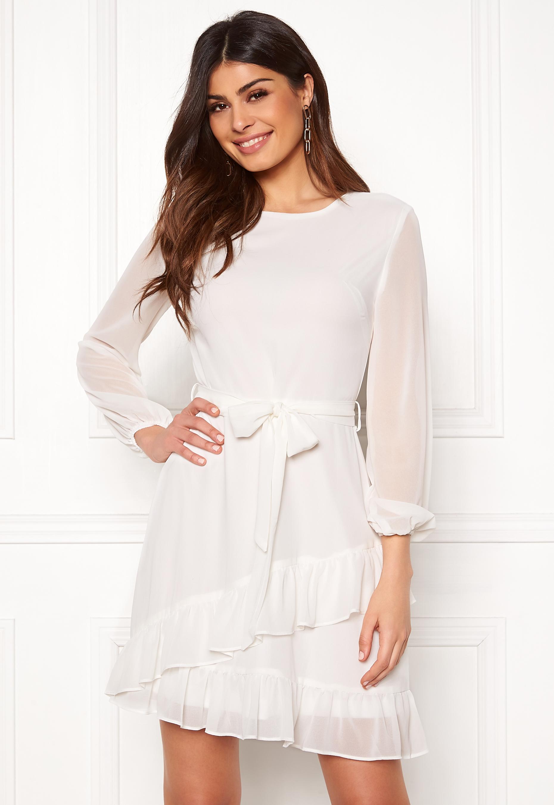 358e37da Sisters Point Nyto Dress 115 Cream - Bubbleroom