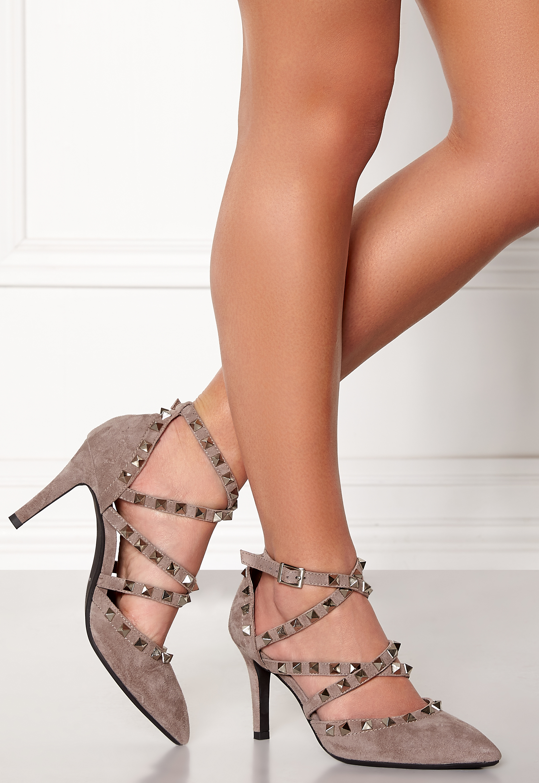 SOFIE SCHNOOR Shoe Stiletto Taupe Bubbleroom