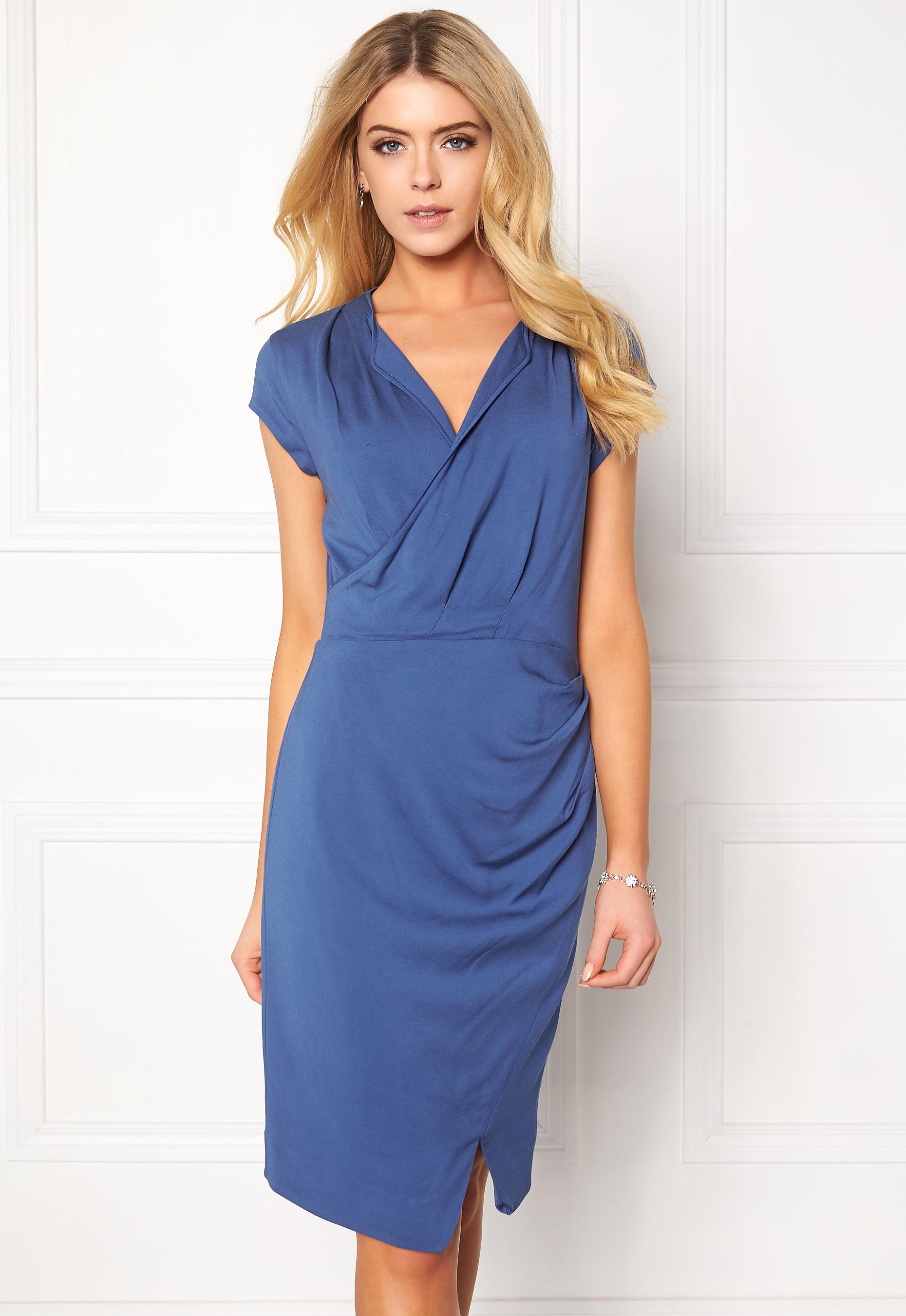 e6ec578c5a9 TIGER OF SWEDEN Karna 3 Dress 20Z Blue - Bubbleroom