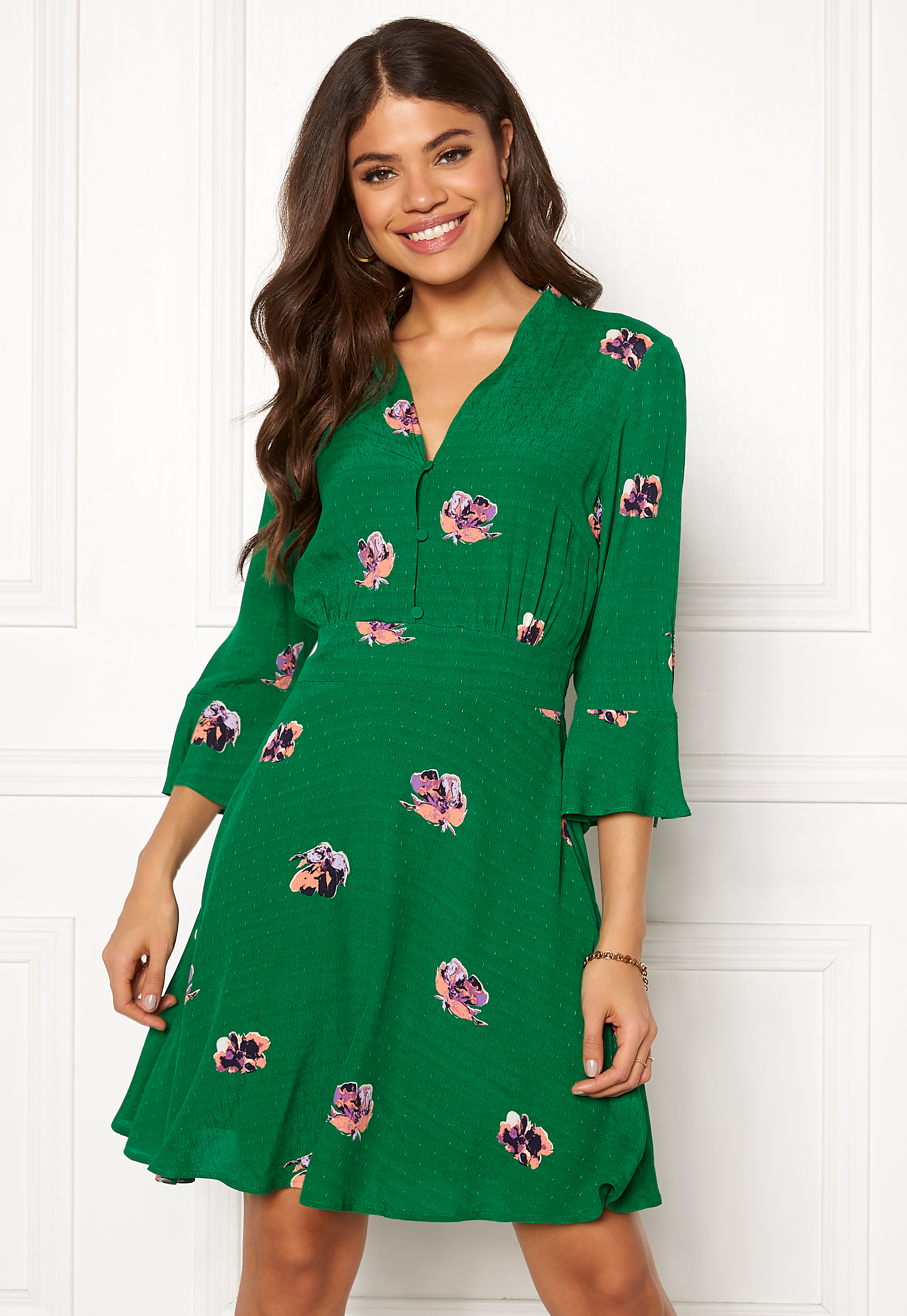 34 Y a Dress Green Bubbleroom s Verdant Avirala Aop iTOZwXlPuk